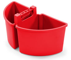 Large Caddy 10-Litres (2 x 5-Litre), Red