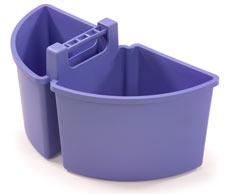 Large Caddy 10-Litres (2 x 5-Litre), Blue