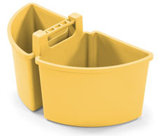 Large Caddy 10-Litres (2 x 5-Litre), Yellow