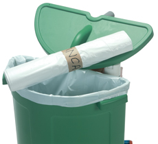 Roll 10 x 70-Litre White Waste bags for 70-Litre Waste Unit