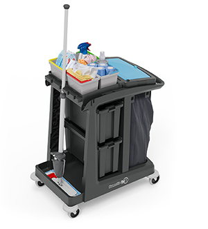 ECO-Matic EM2 Cleaning Trolley