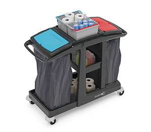 ECO-Matic EM4 Cleaning Trolley