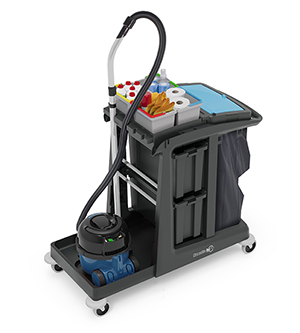 ECO-Matic EM5 Cleaning Trolley