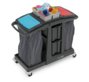 ECO-Matic EM6 Cleaning Trolley