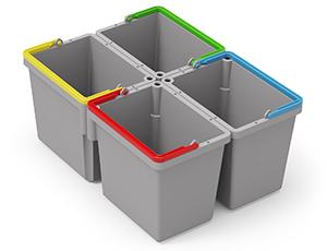 Kit SRK21 - 4x 5L Swing Buckets