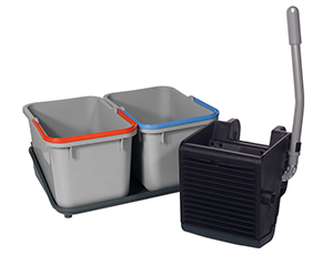 Kit SRK1S - 2x 17L Buckets, Support Tray and Vertical Press